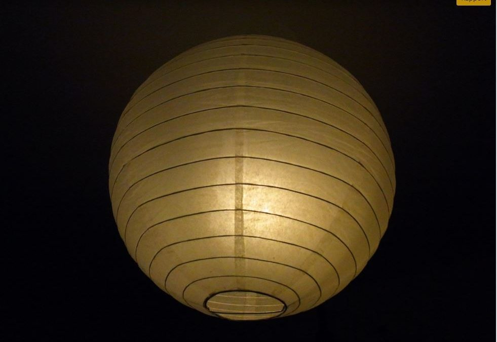 Une décoration moderne grâce aux boules japonaises